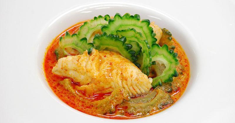 ゲーンクア・マラ・カップ・プラー(魚とゴーヤのゲーンクア)