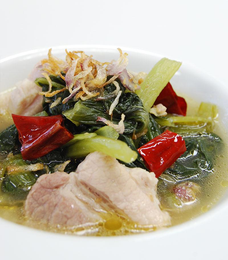 ジョー・パッカード(北タイの青菜スープ)